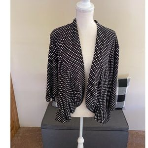 Torrid Polka Dot Knit Blazer Jacket Size 4 (4X)